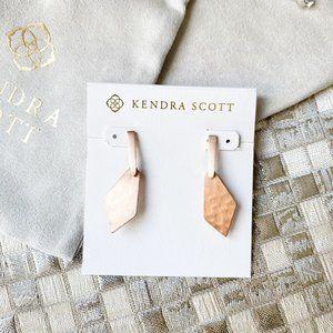 Kendra Scott Gianna Drop Earrings Rose Gold